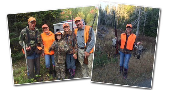 North Country Lodge - Grouse Hunting in Maine